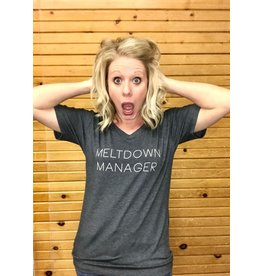 Mary Square Meltdown Manager Tee