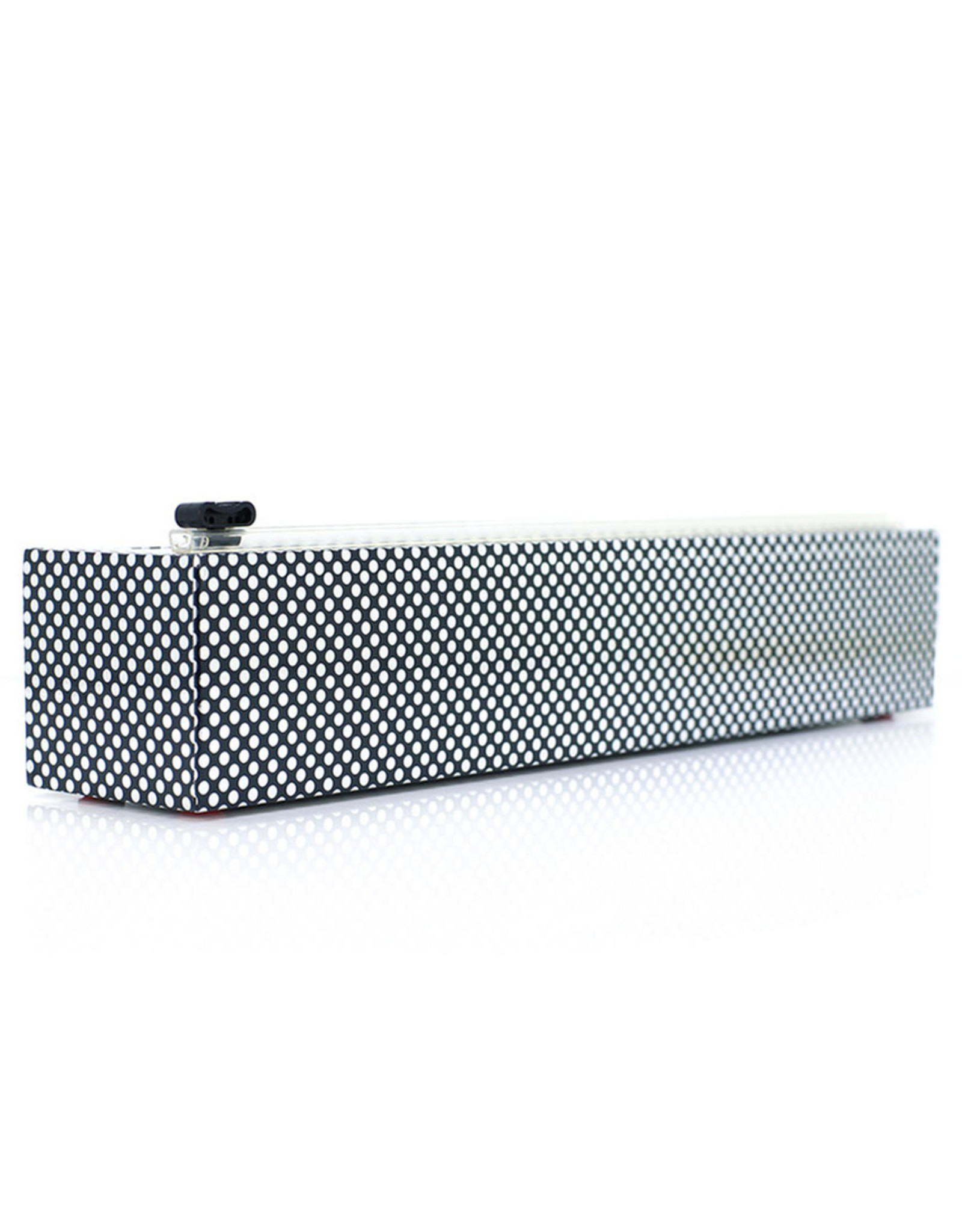 Chic Wrap Plastic Wrap Dispenser, Silver Dots