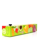 Chic Wrap Plastic Wrap Dispenser, Veggies