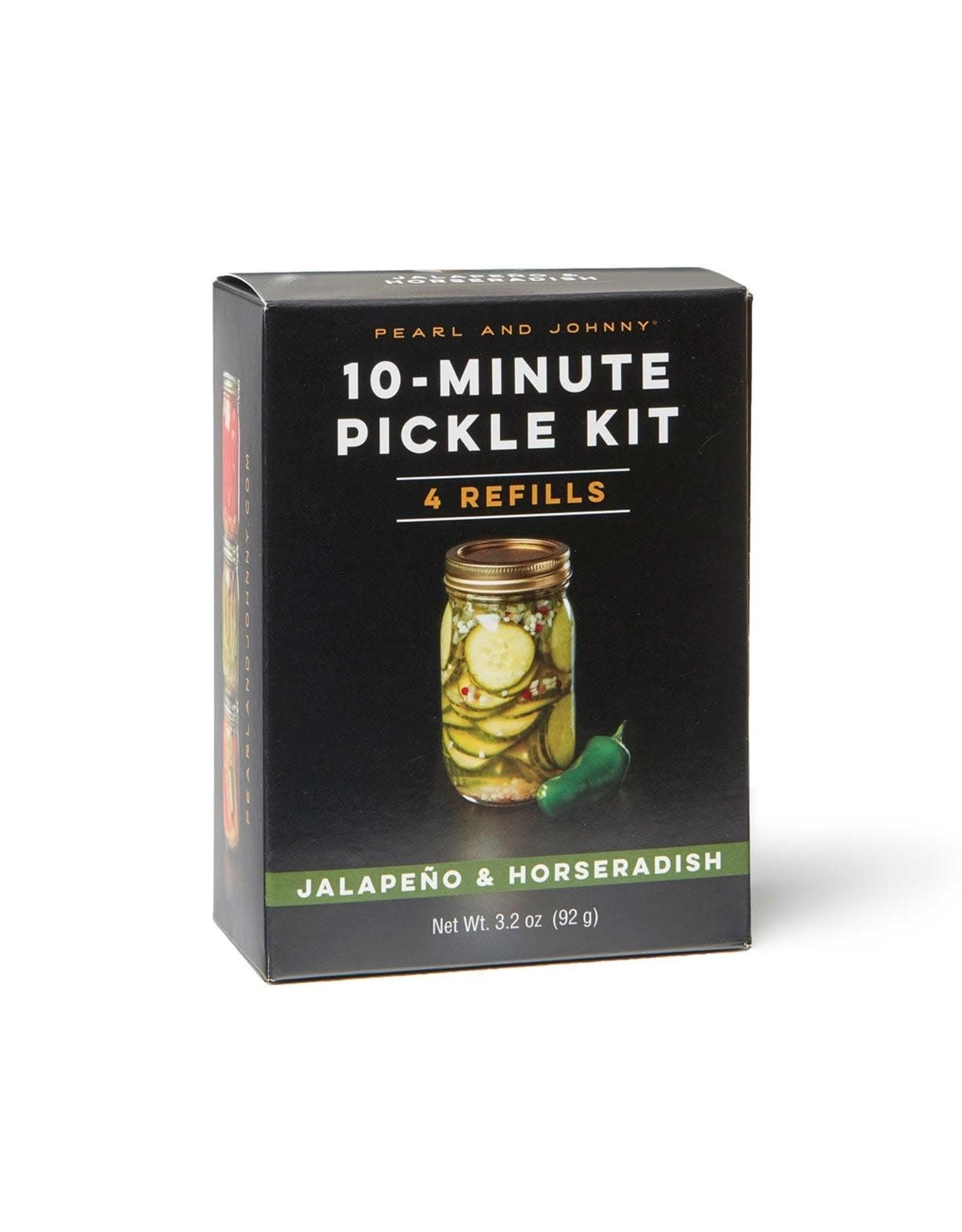 Wind & Willow Jalapeno & Horseradish Pickle Refill Kit