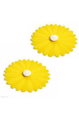 Yellow Daisy Drink Cover Set/2