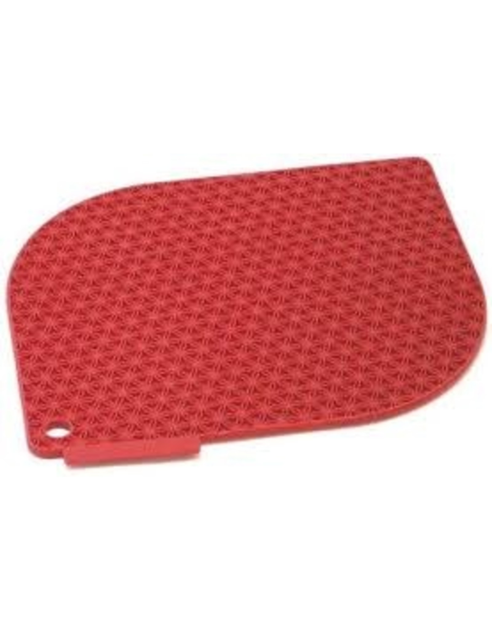 Honeycomb Pot Holder- Red