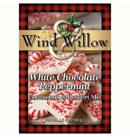 Wind & Willow White Chocolate Peppermint Cheeseball Mix, 4.5oz