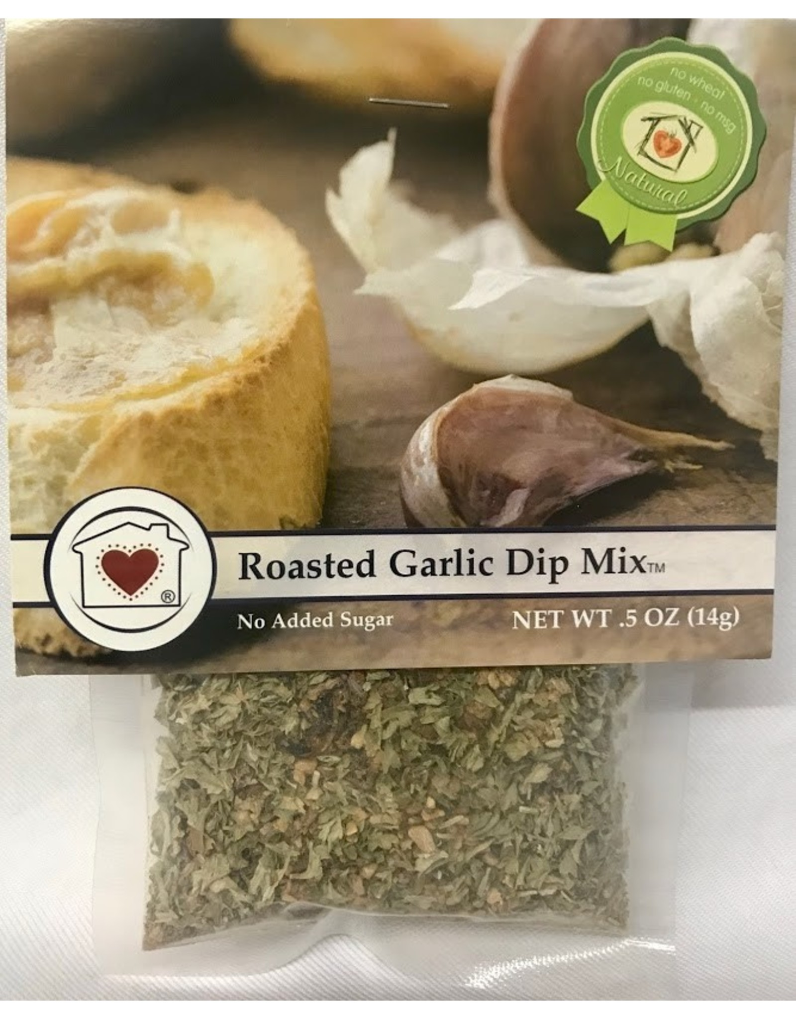 Country Home Creations Roasted Garlic Dip Mix, .5oz