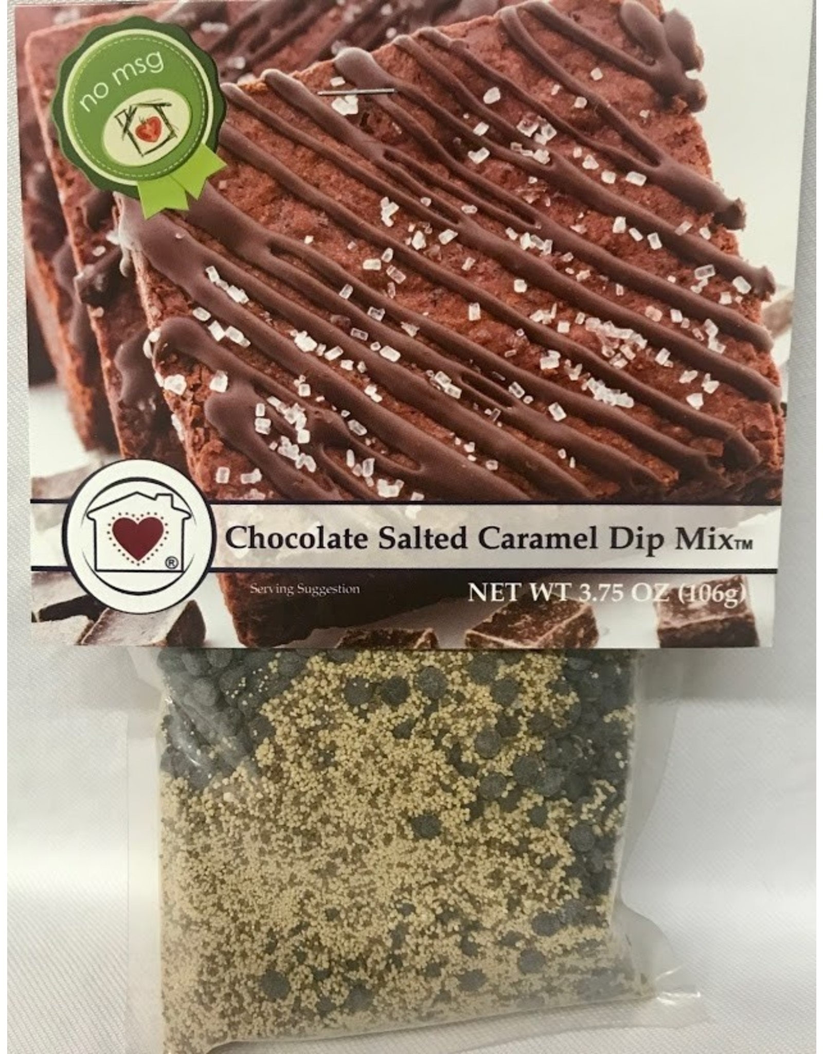 Country Home Creations Chocolate Salted Caramel Dip Mix, 3.75oz