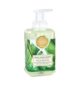Michel Design Foaming Hand Soap, Palm Breeze, 17.8oz