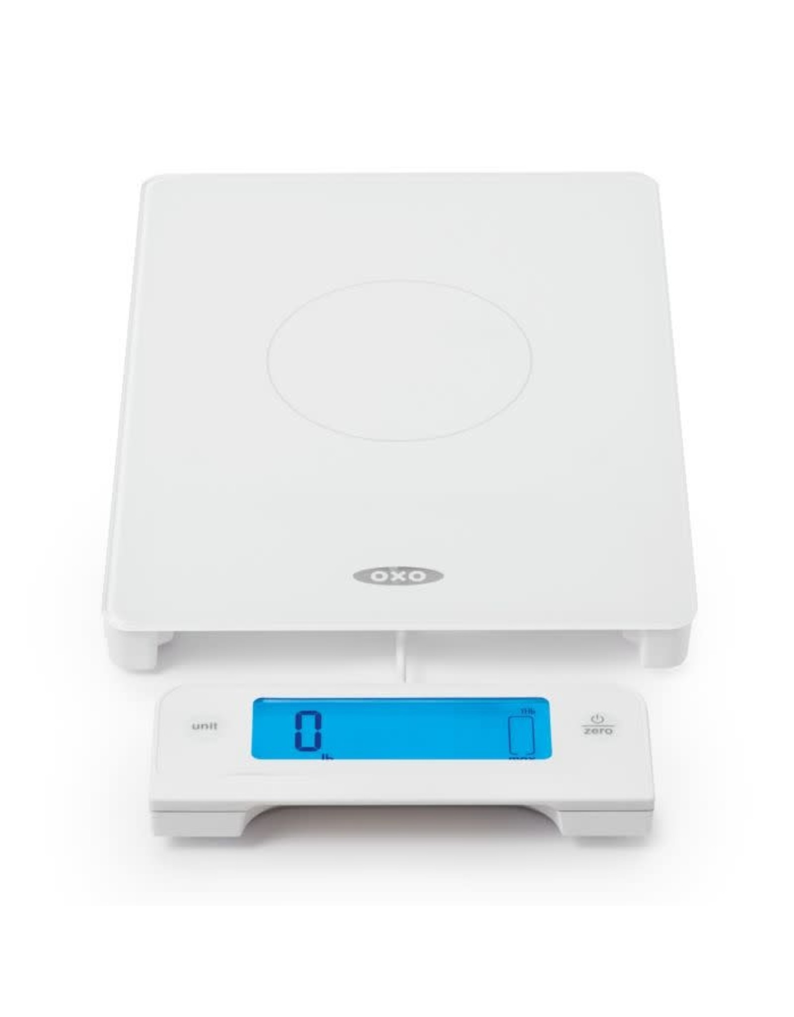 Oxo 11lb Glass Scale w/Pullout Display