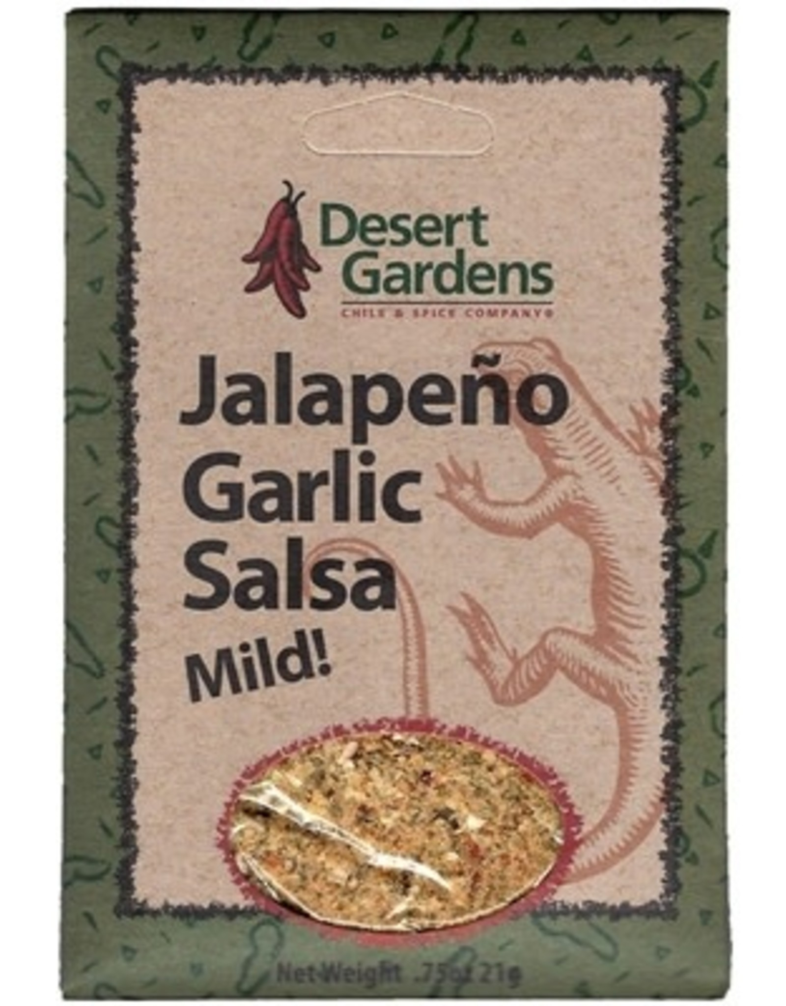 Comfort Foods Salsa, Jalapeno Garlic, .75oz