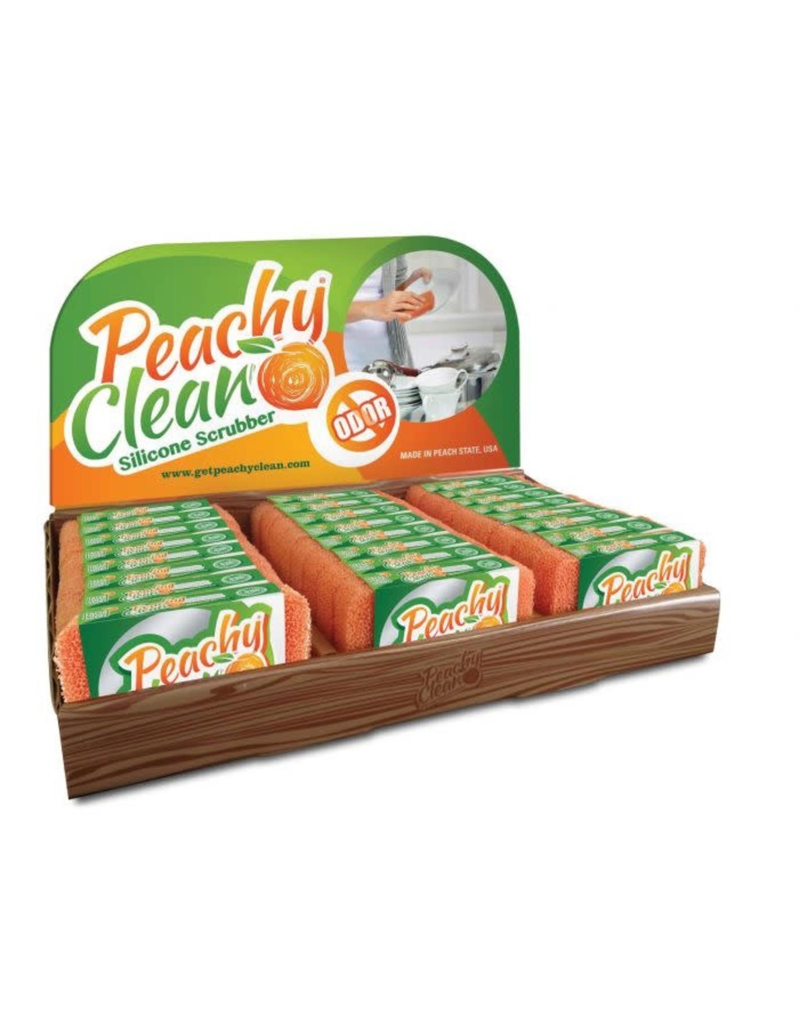 Silicone Scrubber, Peachy Clean