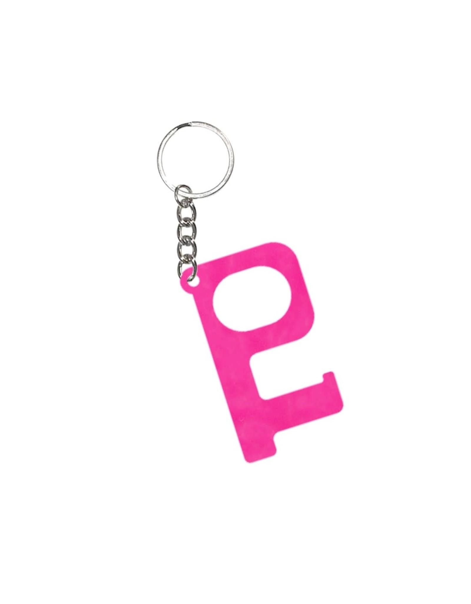 Acrylic Door Key, Pink