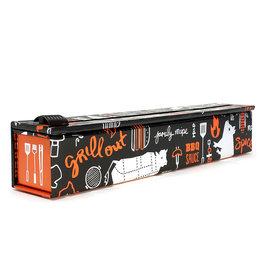 "Chic Wrap Foil Dispenser, BBQ Grill, 12""x30'"