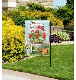 Magnet Works Garden Flag, Summer Garden, 12x18