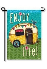 Magnet Works Garden Flag, Enjoy Life, 12x18