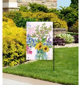 Magnet Works Garden Flag, Jars of Sunshine, 12x18