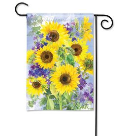 Magnet Works Garden Flag, Yellow Sunflower, 12x18
