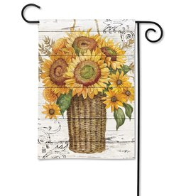 Magnet Works Garden Flag, Farmhouse Sunflower, 12x18
