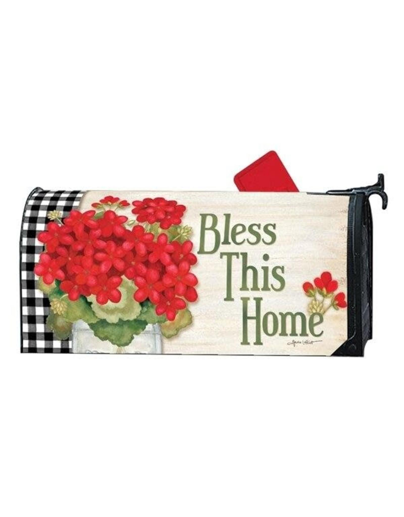 Magnet Works Mailbox Wrap, Geranium Blooms, 6.5x19