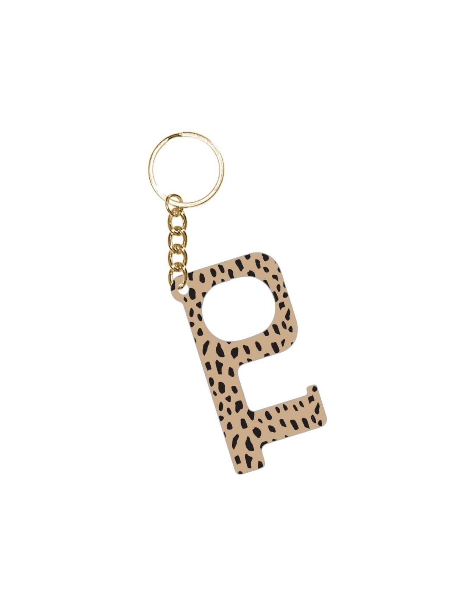 Acrylic Door Key, Cheetah