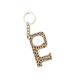 Acrylic Door Key, Cheetah