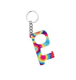 Acrylic Door Key, Tie Dye