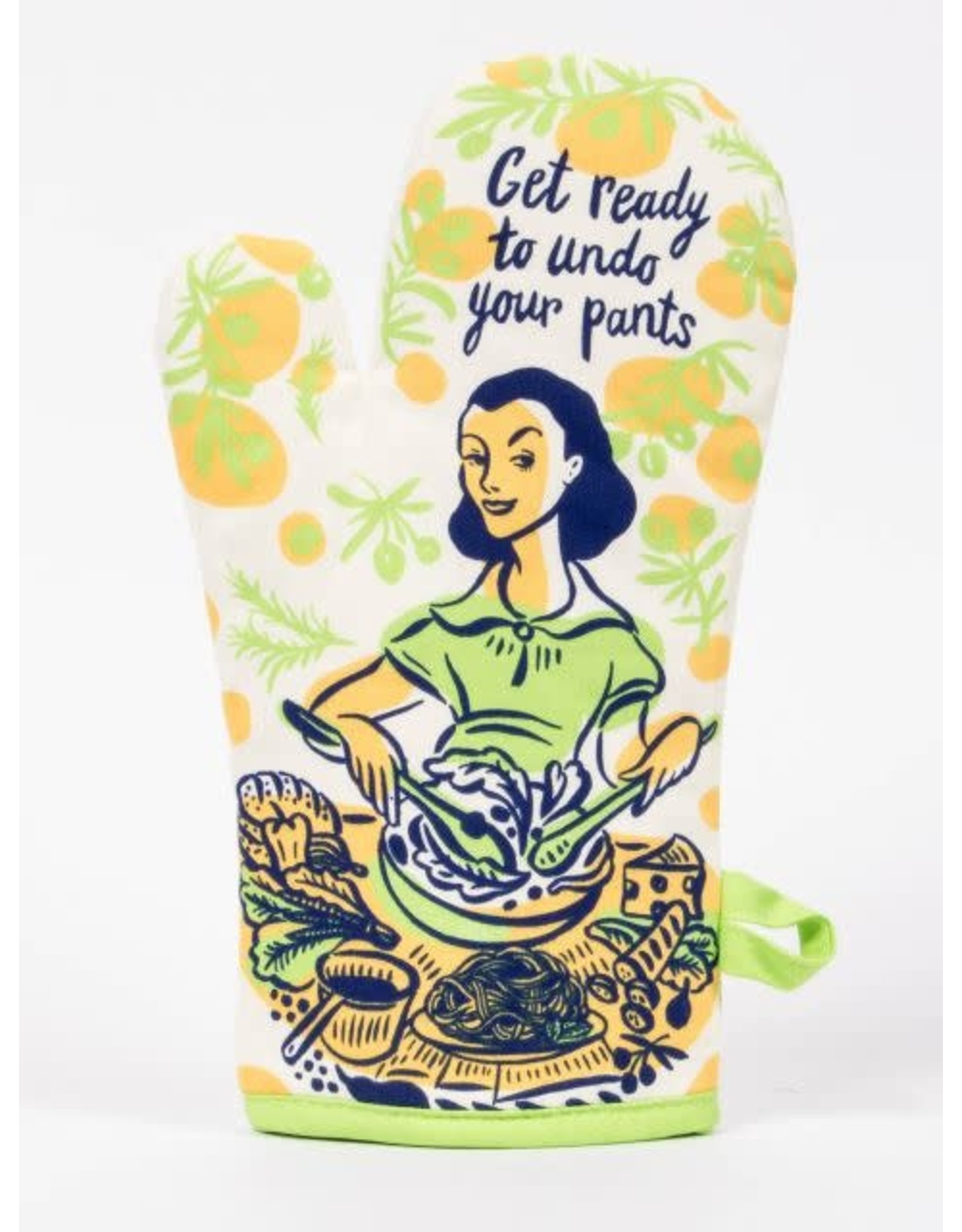 Blue Q Oven Mitt, Get Ready to Undo Your Pants
