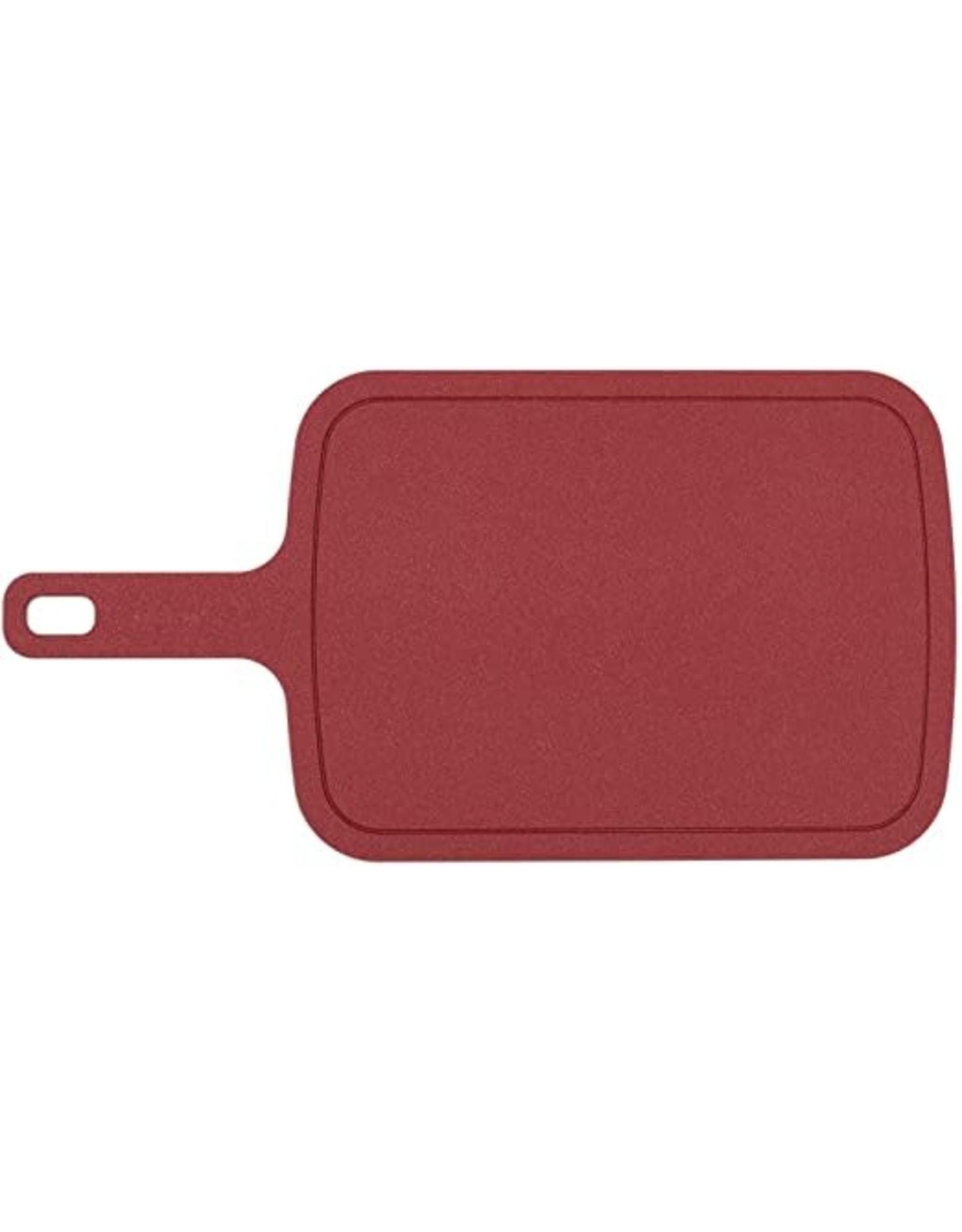 Epicurean Cutting Board w/Handle, Red, 10x8