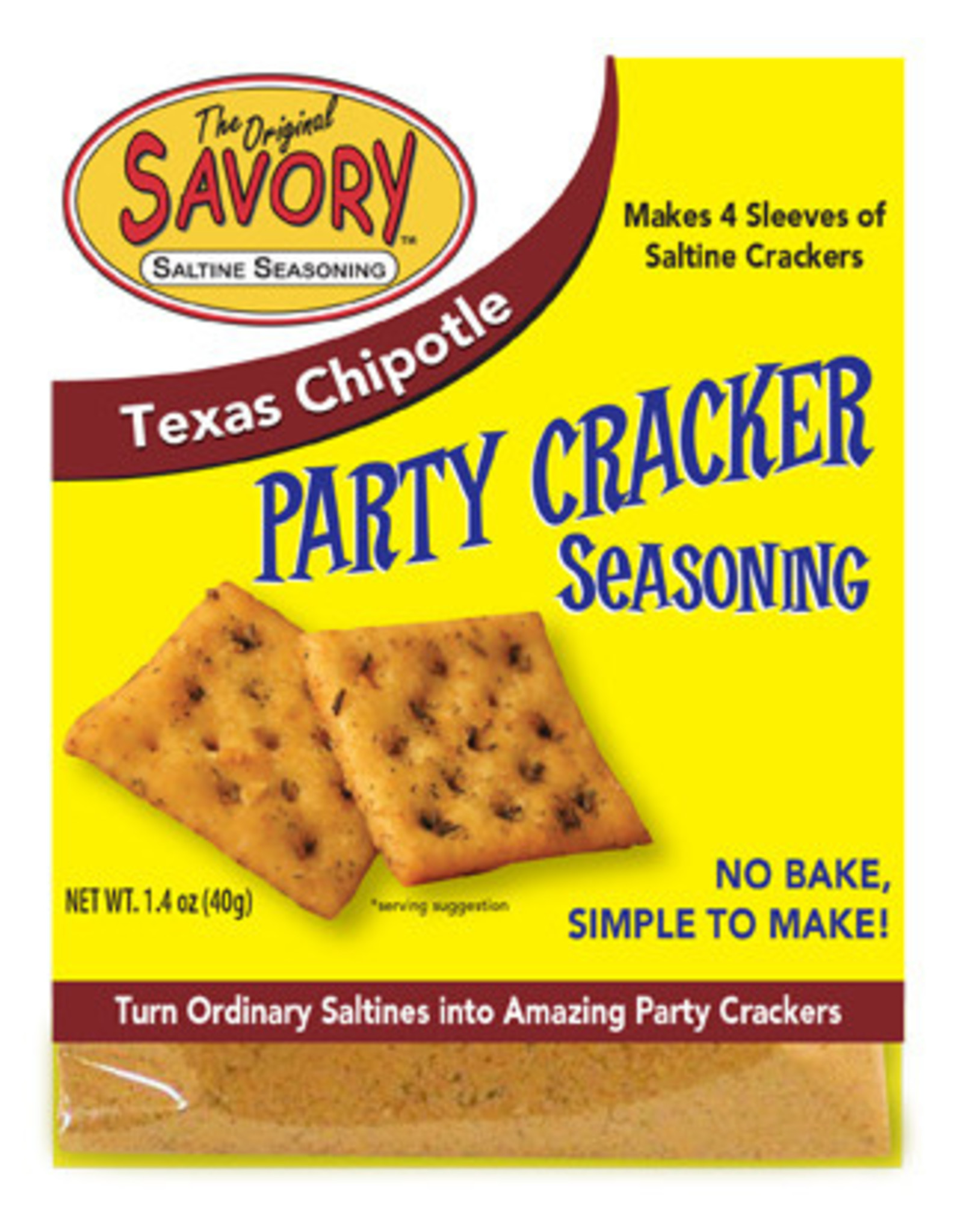 Savory Saltine Seasoning, Chipotle, 1.4oz