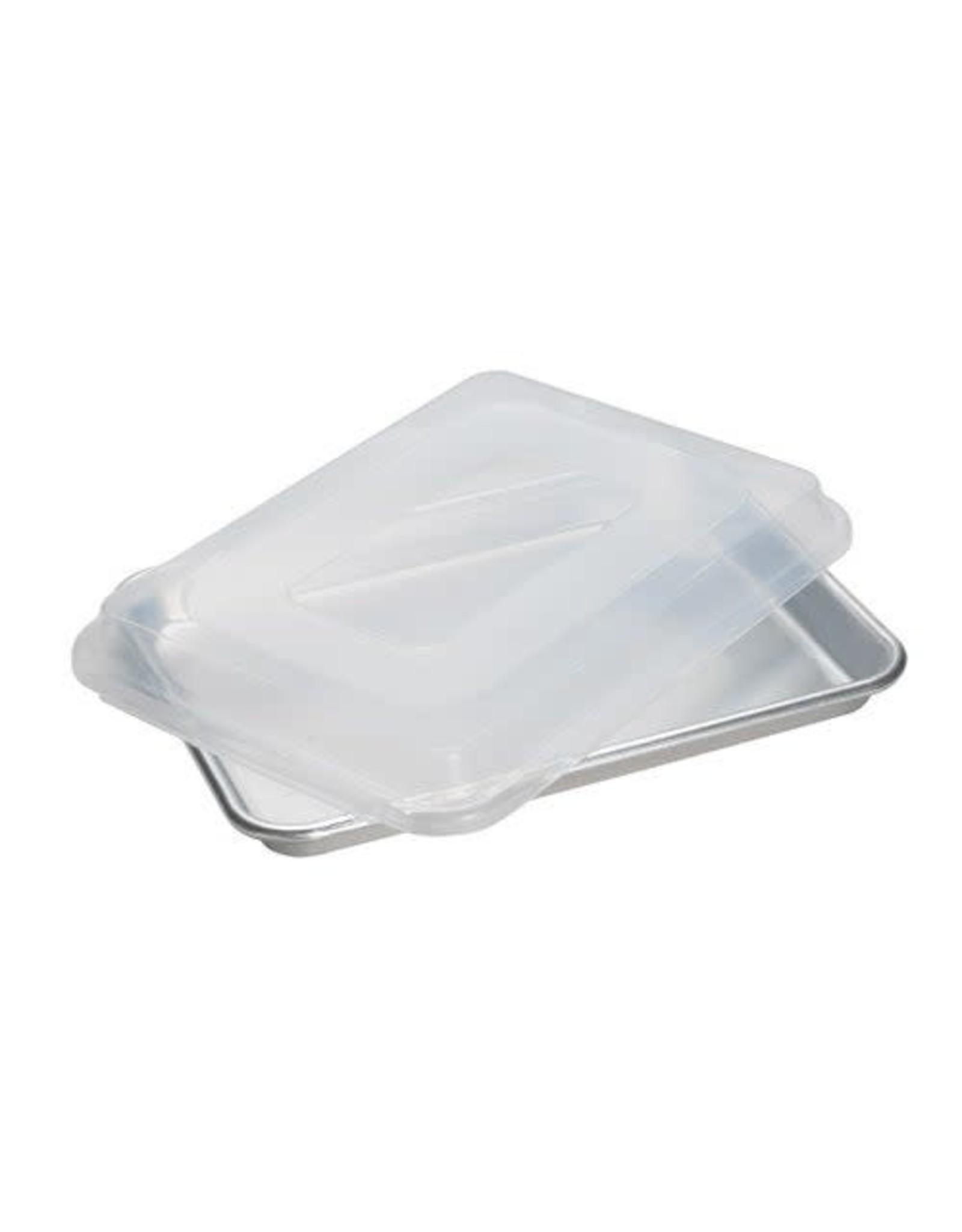 Nordic Ware 1/4 Sheet Baking Pan w/Lid, 9x13