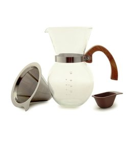 Norpro Pourover Coffee Maker w/SS Filter, 22oz