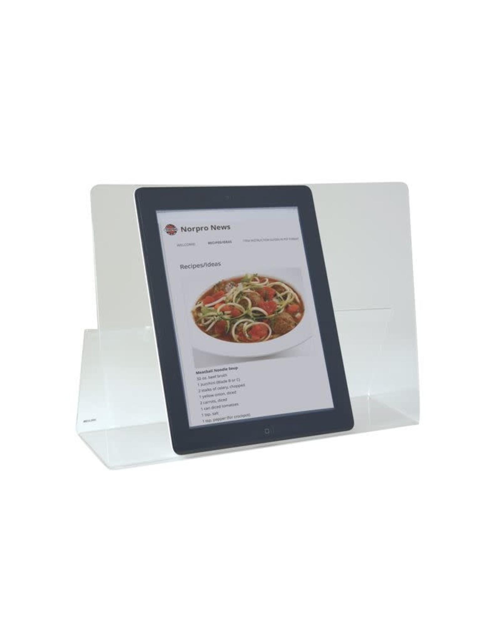 Norpro Acrylic Book, IPad, Tablet Holder