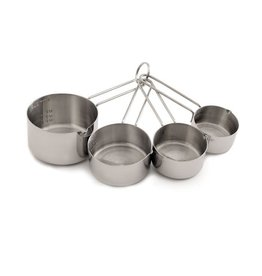 Norpro Stainless Steel Measuring Cup, S/4
