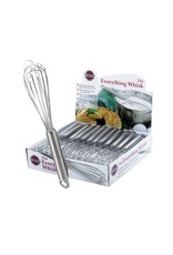"""Norpro Stainless Steel Whisk, 9"""""""