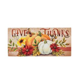 Switch Mat Insert, Give Thanks, 22x10