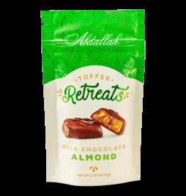 Abdallah Toffee Retreat, Milk Choc Almond, 2.75oz