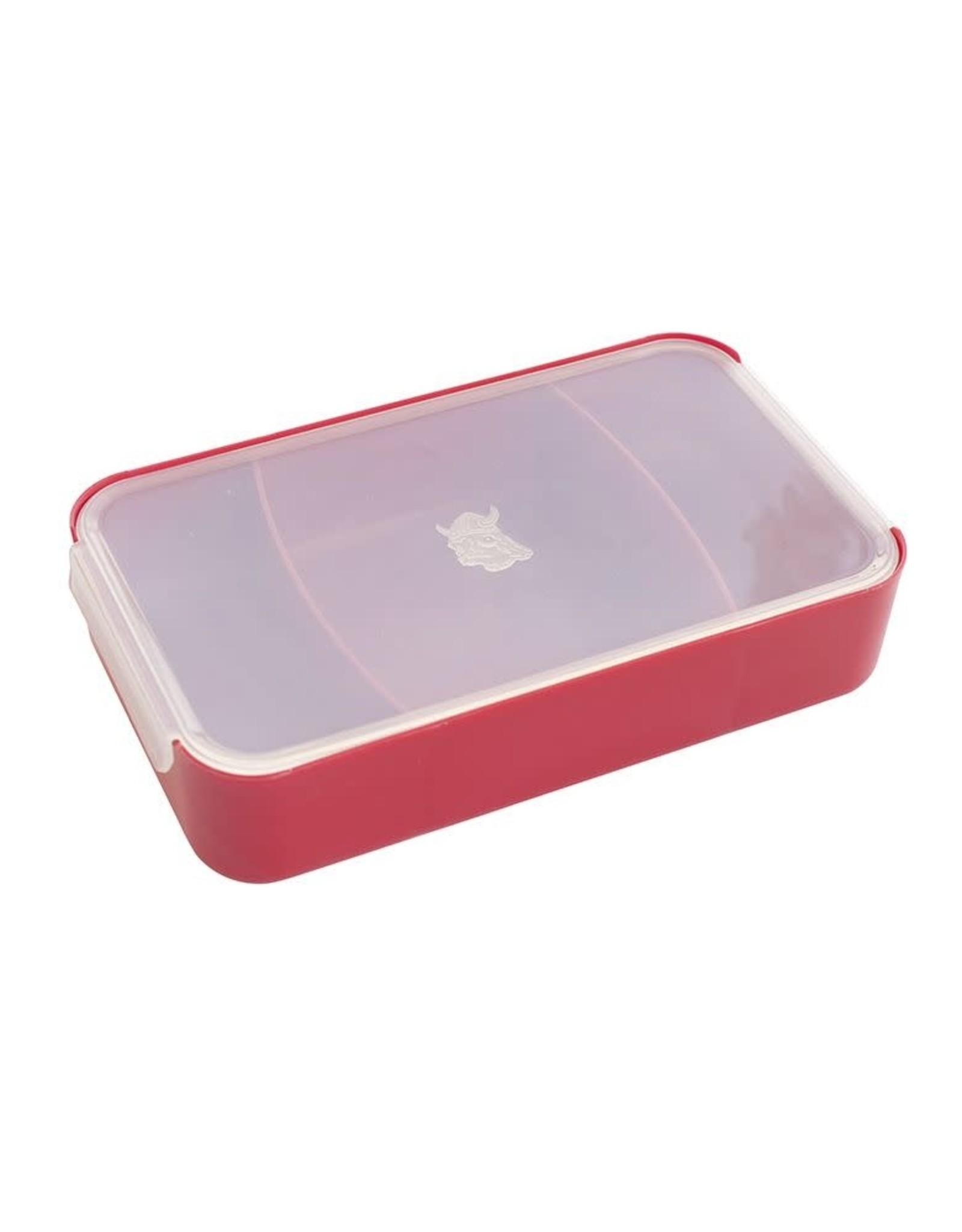 Nordic Ware Bento Box, Red