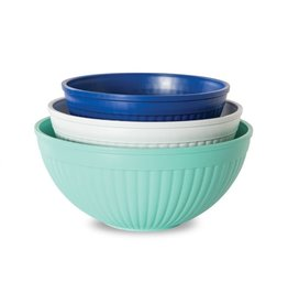 Nordic Ware Prep & Serve Mixing Bowl, S/3
