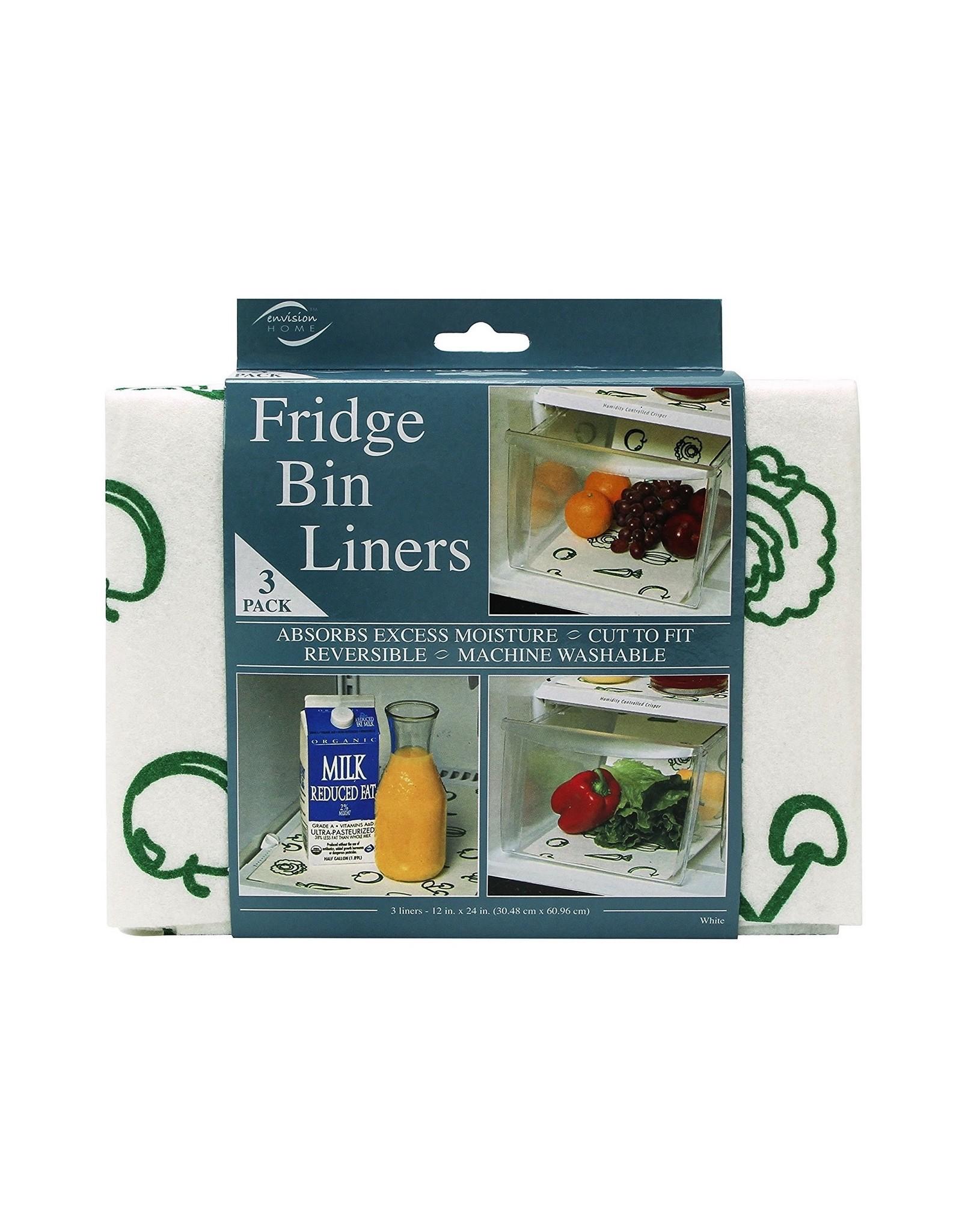 Fox Run Fridge Bin Liners, S/3