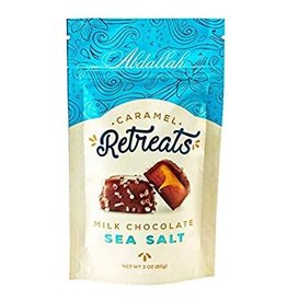 Abdallah Caramel Retreat, Milk Choc Sea Salt, 3oz