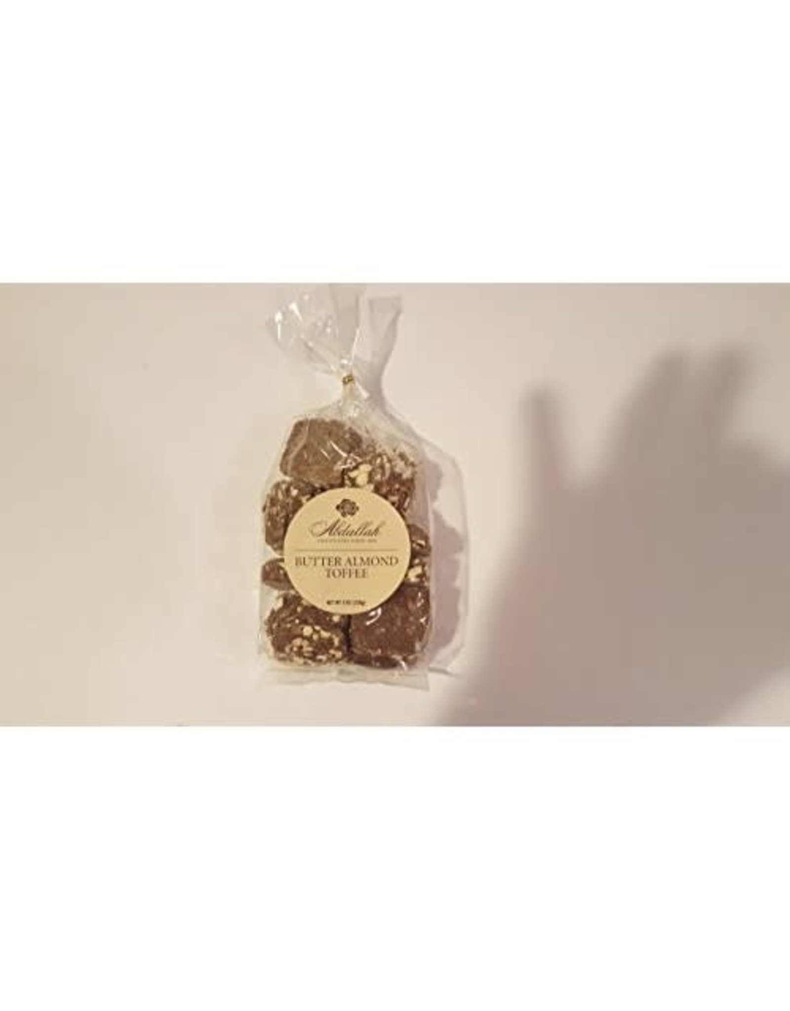 Abdallah Candy, Milk Chocolate Butter Almond Toffee, 7oz