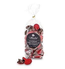 Abdallah Candy, Raspberry Dark Chocolate Non Pareils, 8oz