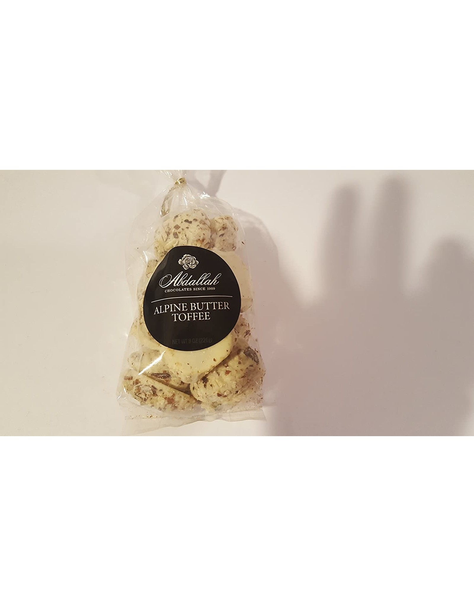 Abdallah Candy, Alpine Butter Toffee, 7oz