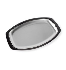 Nordic Ware Stainless Steel Grill & Serve Platter, 10x15