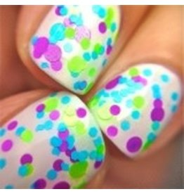 Polka Dot Polish, Twinkle Toes., 5oz