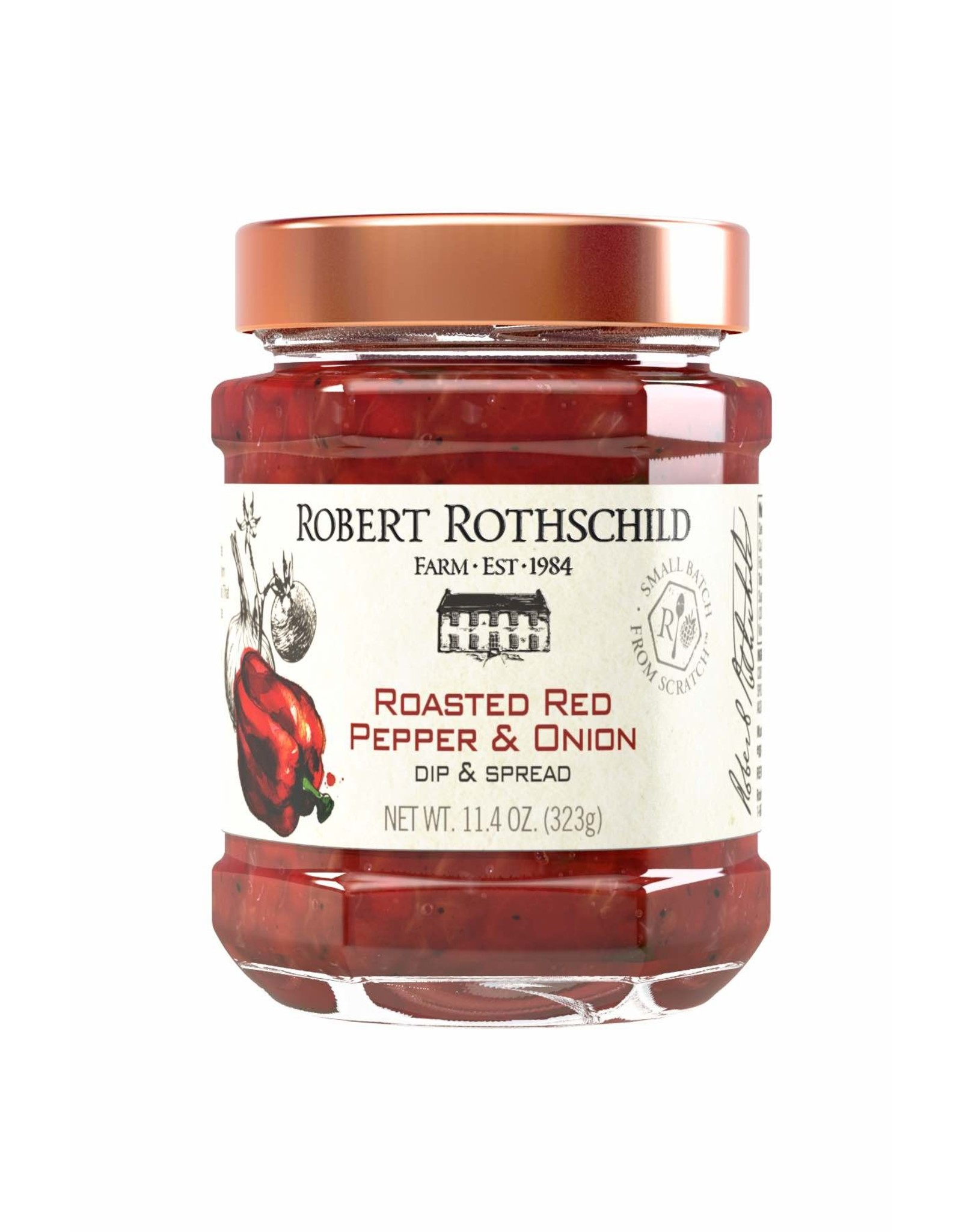 Robert Rothchild Roasted Red Pepper & Onion Dip, 11.4oz