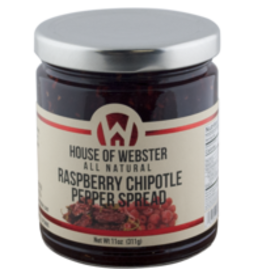 House of Webster Raspberry Chipotle Pepper Spread, 11 oz.
