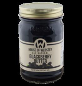 House of Webster Blackberry Butter, 16.5 oz.