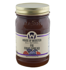House of Webster Fig Fruit Spread, 16.5 oz.