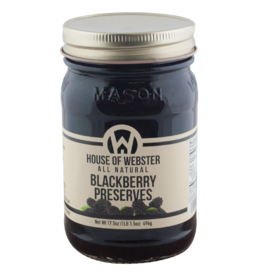 House of Webster Wild Blackberry Preserves, 17.5 oz.