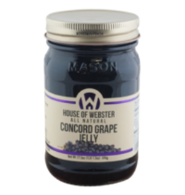 House of Webster Concord Grape Jelly, 17.5 oz.