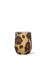 Corkcicle Stemless Tumbler, Luxe Leopard, 12 oz.